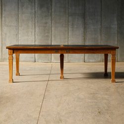Antique Library Table | Reading / Study tables | Heerenhuis