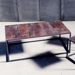Mesa MTM Leather Coffee Table | Mesas de centro | Heerenhuis