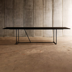 Mesa MTM nero | Dining tables | Heerenhuis