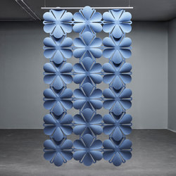 Airbloom | Sound absorbing suspended panels | Abstracta