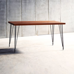 Sputnik Black Table | Mesas para restaurantes | Heerenhuis
