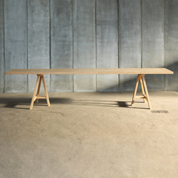 Trestle MTM Table | Restaurant tables | Heerenhuis