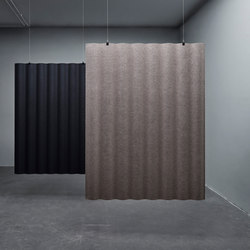 Scala | Sound absorbing suspended panels | Abstracta