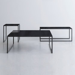BK | table black | Tables basses | By interiors inc.