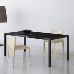 BK | dining black | Dining tables | By interiors inc.