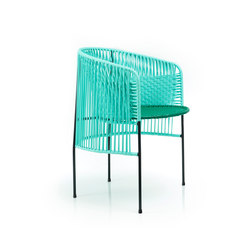 Caribe | dining chair, mint/green/black | Restaurant chairs | Ames