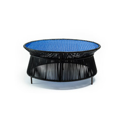 Caribe | low table, black/blue/brown | Tavoli bassi da giardino | Ames