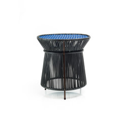 Caribe | high table, black/blue/brown | Tables d'appoint | Ames
