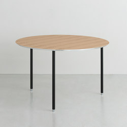 TEE | table round | Mesas contract | By interiors inc.