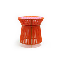 Caribe | high table, orange/rose/curry | Tables d'appoint | Ames
