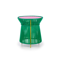 Caribe | high table, green/rose/curry | Tables d'appoint | Ames