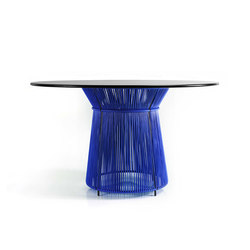Caribe | dining table, blue/black | Dining tables | Ames