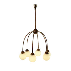 6 Arm Chandelier, M I pe40 | General lighting | Woka