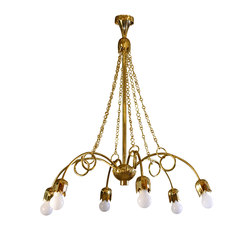 Brass Chandelier | Suspensions | Woka
