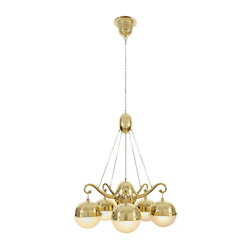 WW chandelier 5-arms M 2898 | Iluminación general | Woka