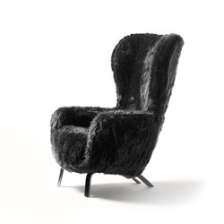 Guelfo Fur Limited Edition wingback | Fauteuils d'attente | Opinion Ciatti