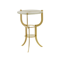 Aria Trifurcated Side Table | Mesas auxiliares | Douglas Design Studio