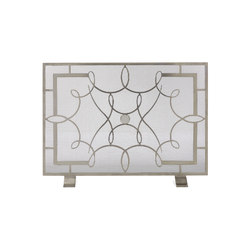 Greta Firescreen | Fireplace accessories | Douglas Design Studio