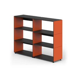 Plusminus Regal | Büroregalsysteme | Faust Linoleum