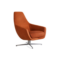Enzo swivel base | Poltrone | Montis