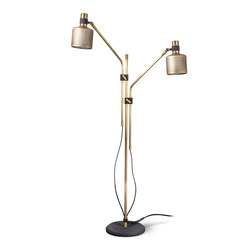 Riddle Double Floor Light | Lampade piantana | Bert Frank