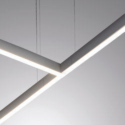 linear suspended lighting. Rail Sistema | General Lighting EGOLUCE Linear Suspended