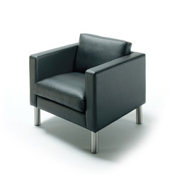 HJM Boston Easychair | Lounge chairs | Stouby