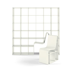 bookchair - 210 | Shelving systems | Alias