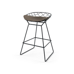 kobi medium stool - n02 | Sgabelli bar da giardino | Alias