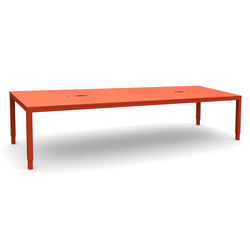 Tetra Meeting Table - electric sit & stand frame | Mesas de reuniones | Swedstyle