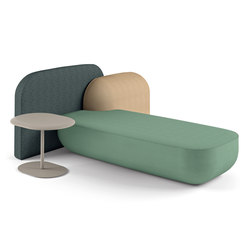 okome 003 + small table b | Modular seating systems | Alias