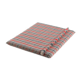 Garden Layers Big Mattress Tartan blue | Cuscinetti per sedie | GAN