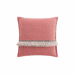 GARDEN LAYERS BIG CUSHION DIAGONAL ALMOND-BLUE - Cushions
