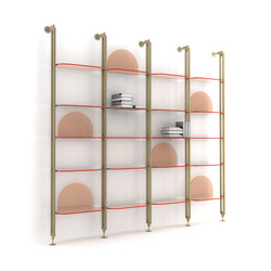 Alba Shelve System | Office shelving systems | ARFLEX