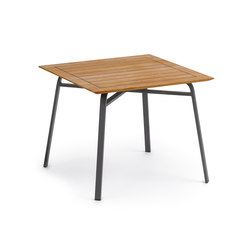 Ahoi Table, Tabletop Teak | Restaurant tables | Weishäupl