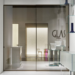 Sherazade | Glass room doors | Glas Italia
