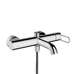 AXOR Uno Single lever bath mixer for exposed installation loop handle | Bath taps | AXOR