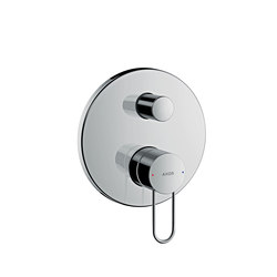 AXOR Uno Single lever bath mixer for concealed installation loop handle with integrated security combination according to EN1717 | Bath taps | AXOR