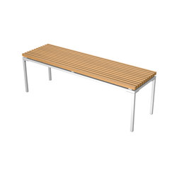Home Collection Dining | Bench 140/41 | Bancos de jardín | Viteo