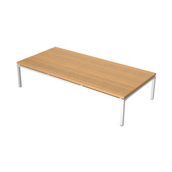Home Collection Lounge | Lounge Table 190/90 | Tables basses de jardin | Viteo