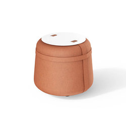 Accessories | Hocker Rund | Poufs / Polsterhocker | Viteo