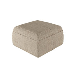 Accessories | Pouf Square Low | Poufs de jardin | Viteo