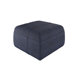Accessories | Pouf Square High | Poufs de jardin | Viteo