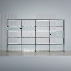 USM Haller E | Illuminated shelving | USM