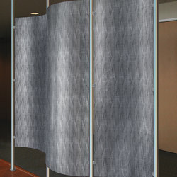 Perforated Metal Room Divider in Classic Collection Clear | Lastre | Moz Designs