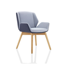 Kruze | Visitors chairs / Side chairs | Boss Design