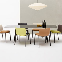 Meety | Restaurant tables | Arper