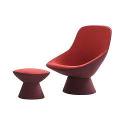 Pala | armchair and ottoman | Armchairs | Artifort