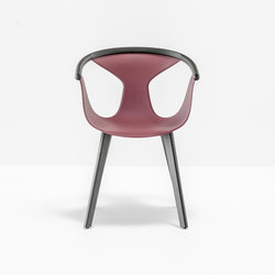 Fox armchair 3725 | Chaises de restaurant | PEDRALI