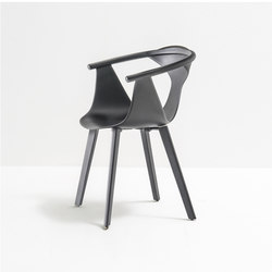 Fox armchair 3725 | Restaurant chairs | PEDRALI